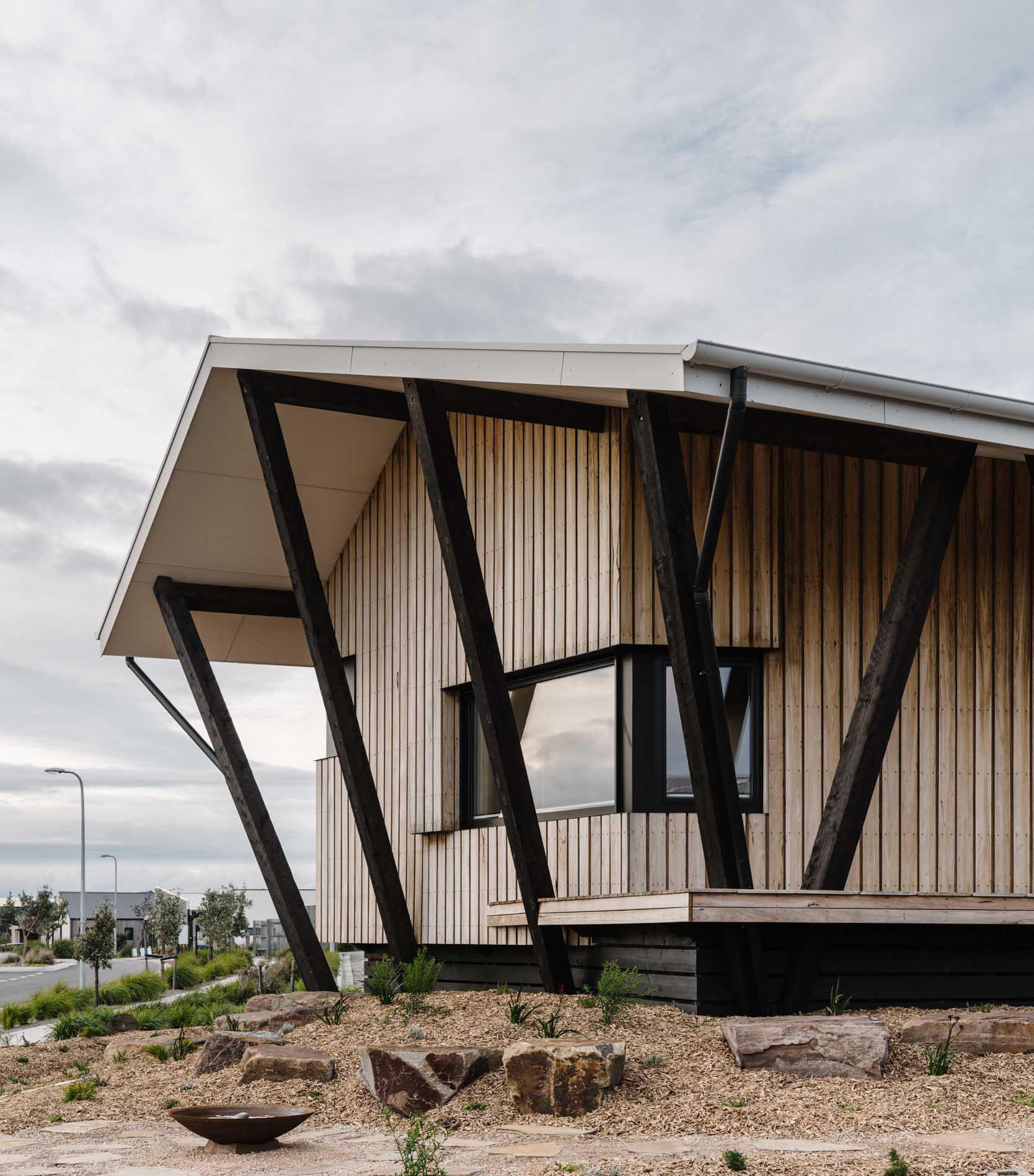 architecture design sustainability eco passive solar timber detail